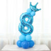 Blue Number Eight