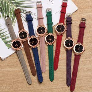 4275801851b65 الساعة الكورية بتصميم رائع و ألوان مميزة – TalaPco - طلبكو